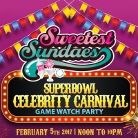 Sweetest Sundaes Super Bowl Celebrity Carnival
