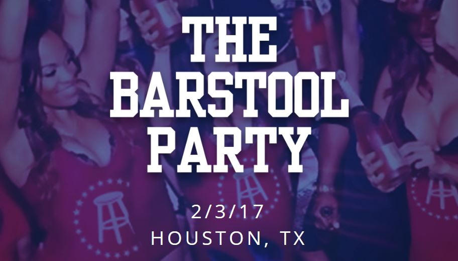 The BarStool Sports Super Bowl Party 2017 Houston Tickets Ashanti Ja Rule