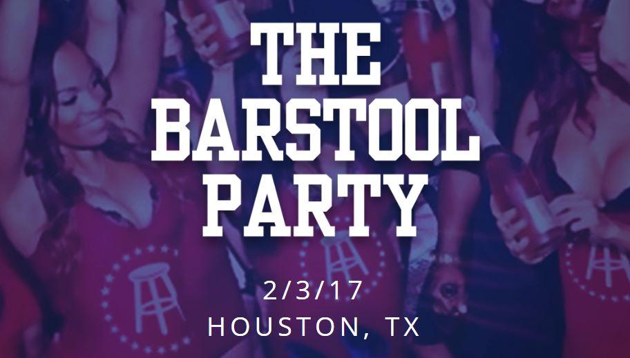 The BarStool Sports Super Bowl Party 2017 Houston Tickets Ashanti Ja Rule