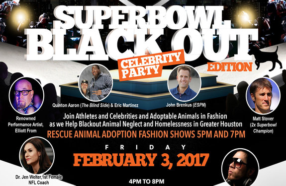 players and pets super bowl edition blackout celebrity party houston 2017