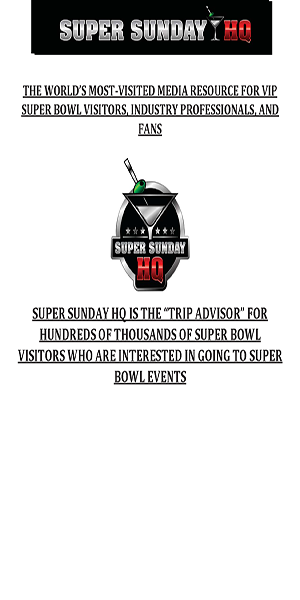 COMING SOON! 2018 MINNEAPOLIS SUPER BOWL EVENT