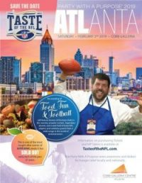 2019 ATLANTA TASTE OF THE NFL'S 28TH ANNUAL PARTY WITH A PURPOSE